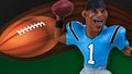 Cam Newton (Carolina Panthers) NFL smALL PROs Series 2 McFarlane
