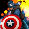 Captain America One:12 Collective Mezco Action Figure