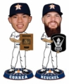 Carlos Correa and Dallas Keuchel (Houston Astros) 2015 MLB Awards Trophy Bobble Heads Astros Set (2) Forever Collectibles