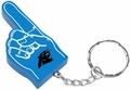 Carolina Panthers #1 Foam Finger Keychain