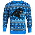 Carolina Panthers 2016 Aztec NFL Ugly Crew Neck Sweater by Forever Collectibles