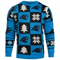 Carolina Panthers 2016 Patches NFL Ugly Crew Neck Sweater by Forever Collectibles