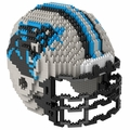 Carolina Panthers NFL 3D Helmet BRXLZ Puzzle By Forever Collectibles