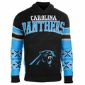 Carolina Panthers NFL Big Logo Hooded Sweater by Klew