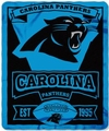 Carolina Panthers NFL Fleece Throw Blanket