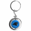 Carolina Panthers NFL Spinner Keychain
