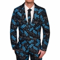 Carolina Panthers NFL Repeat Logo Ugly Business Suit by Forever Collectibles