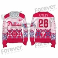 Chase Utley (Philadelphia Phillies) MLB Ugly Player Sweater