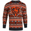 Chicago Bears 2016 Aztec NFL Ugly Crew Neck Sweater by Forever Collectibles