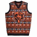 Chicago Bears Aztec NFL Ugly Sweater Vest