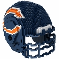 Chicago Bears NFL 3D Helmet BRXLZ Puzzle By Forever Collectibles