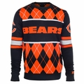 Chicago Bears NFL Argyle Sweater CLARKtoys Exclusive