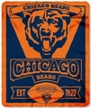 Chicago Bears NFL Fleece Throw Blanket