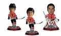Chicago Blackhawks 2010 Stanley Cups Champions Mini Big Head Bobble Head 3-Pack