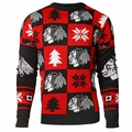 Chicago Blackhawks 2016 Patches NHL Ugly Crew Neck Sweater by Forever Collectibles