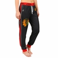 Chicago Blackhawks NHL Poly Fleece Women's Jogger Pant by Klew