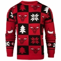 Chicago Bulls 2016 Patches NBA Ugly Crew Neck Sweater by Forever Collectibles