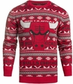 Chicago Bulls NBA 2016 Aztec Ugly Crew Neck Sweaters by Forever Collectibles