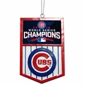 Chicago Cubs 2016 World Series Champions Banner Ornament