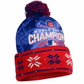 Chicago Cubs 2016 World Series Champions Big Logo Light Up Beanie
