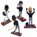Chicago Cubs 2016 World Series Champions Ticket Base Bobblehead Complete Set (4)