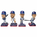 Chicago Cubs 2016 World Series Champions Mini Bighead 4-Pack Bobbles (Arrieta, Bryant, Maddon, Rizzo) by Forever Collectibles