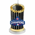 Chicago Cubs 2016 World Series Champions Resin Trophy Ornament