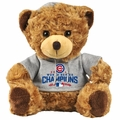 Chicago Cubs 2016 World Series Champions Seated Hoody Bear