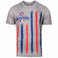 Chicago Cubs 2016 World Series Champions Stadium Flag Tee