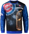 Chicago Cubs 2016 World Series Champions Trophy Sweater