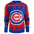Chicago Cubs Big Logo MLB Ugly Sweater