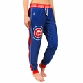 Chicago Cubs MLB Poly Fleece Women's Jogger Pant by Forever Collectibles