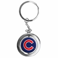 Chicago Cubs MLB Spinner Keychain