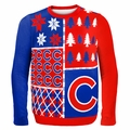 Chicago Cubs MLB Ugly Sweater BusyBlock