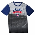 Chicago Cubs Outfield Photo Tee by Forever Collectibles