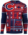 Chicago Cubs Patches MLB Ugly Sweater by Klew