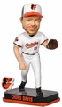 Chris Davis (Baltimore Orioles) Forever Collectibles 2014 MLB Springy Logo Base Bobblehead