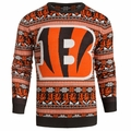Cincinnati Bengals 2016 Aztec NFL Ugly Crew Neck Sweater by Forever Collectibles
