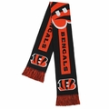 Cincinnati Bengals 2016 NFL Big Logo Scarf By Forever Collectibles