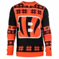 Cincinnati Bengals Big Logo NFL Ugly Sweater