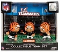 Cincinnati Bengals Lil Teammates NFL 3-Pack Collectible Team Set