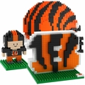 Cincinnati Bengals NFL 3D BRXLZ Puzzle Set By Forever Collectibles
