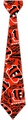 Cincinnati Bengals NFL Ugly Tie Repeat Logo by Forever Collectibles
