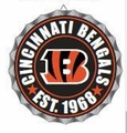 Cincinnati Bengals NFL Wall Decor Bottlecap Collection by Forever Collectibles
