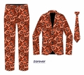 Cincinnati Bengals NFL Repeat Logo Ugly Business Suit by Forever Collectibles