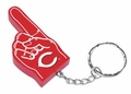 Cincinnati Red #1 Foam Finger Keychain