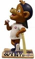 Clark (Chicago Cubs - Mascot) 2016 World Series Champions Newspaper Base Bobble Head by Forever Collectibles