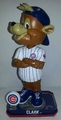 Clark The Cubs Mascot (Chicago Cubs) Forever Collectibles 2014 MLB Springy Logo Base Bobblehead