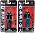 "Clay/Jax Sons of Anarchy 6"" Action Figure Combo (2) Mezco"