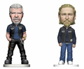 "Clay/Jax Sons of Anarchy 6"" Bobbleheads Combo (2) Mezco"